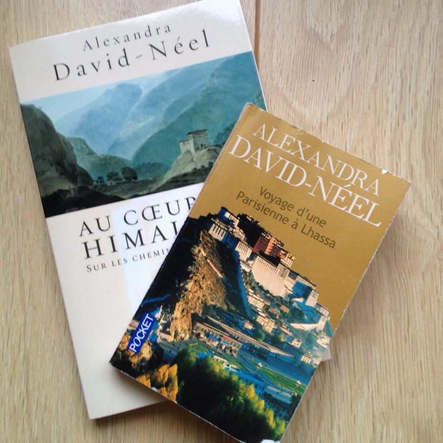 livres alexandra David neel