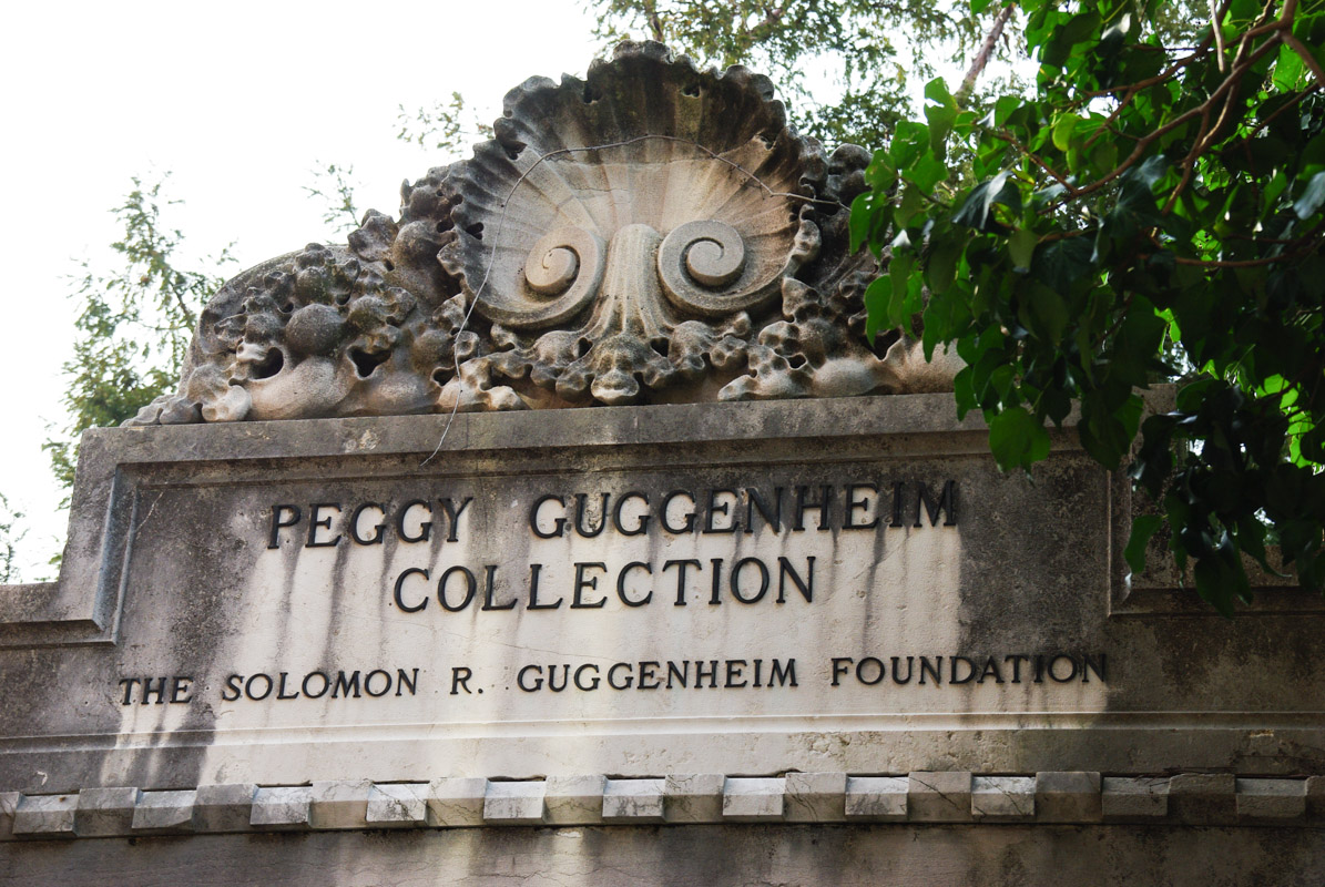entrée de la collection Peggy Guggenheim