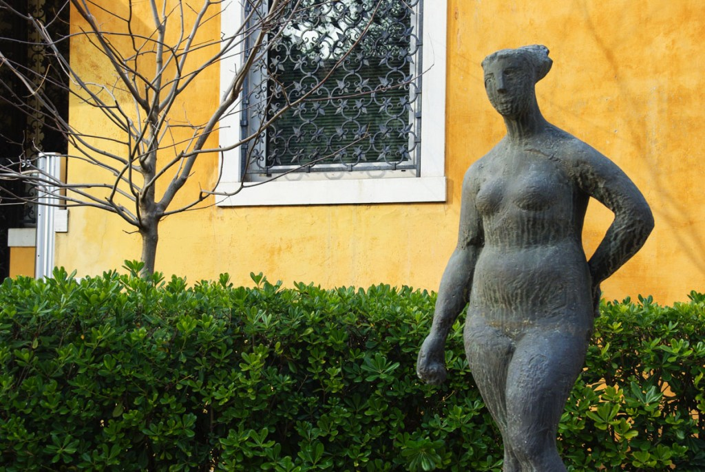 "Sculpture ""Pomona"" by Marino Marini Peggy Guggenheim Collection"