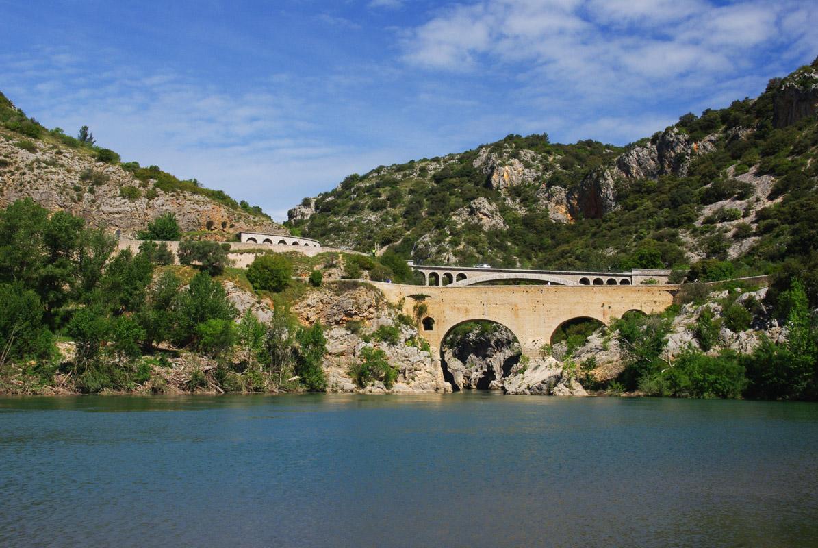 le pont du diable au dessus de Hérault