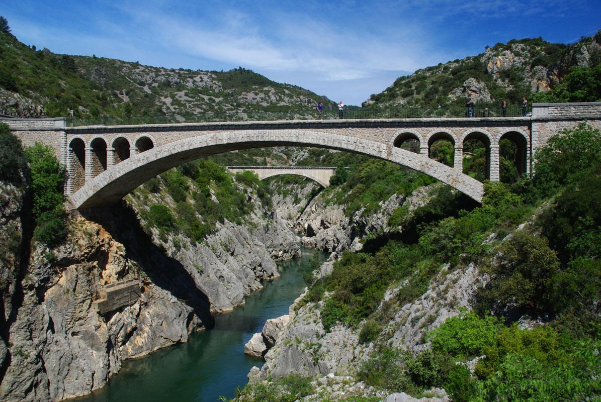 entrée des gorges de l'Hérault