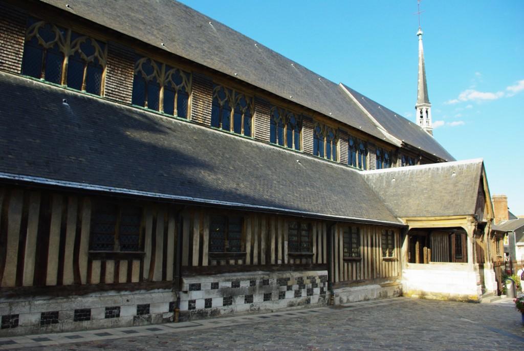 église Sainte Catherine de Honfleur en Normandie