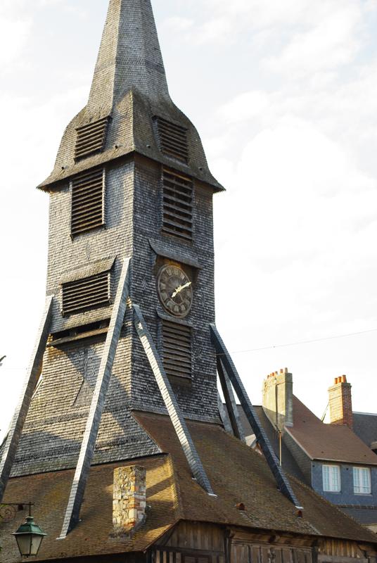 clocher de l'église Sainte Catherine de Honfleur