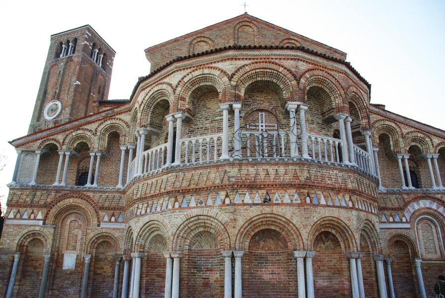 basilique médiévale romane de SS Maria e Donato de Murano
