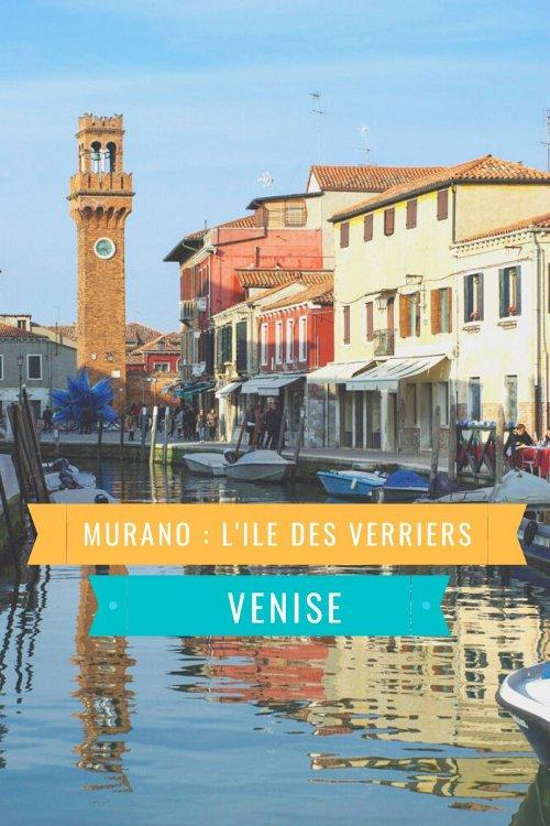 Visiter Murano, l'ile des verriers, dans la lagune de Venise