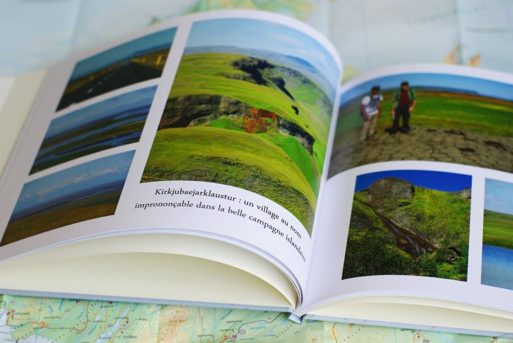 intérieur livre photo islande