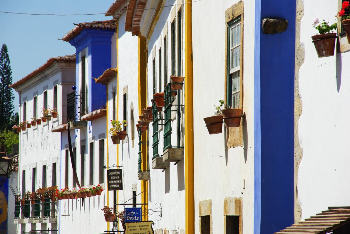 Óbidos : un village de carte postale au Portugal