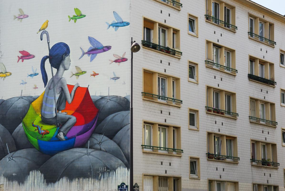 street art rue Emile Deslandres
