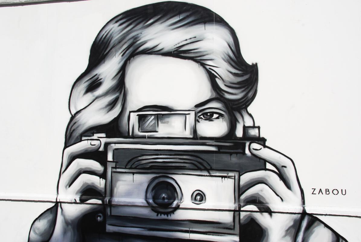 fresque street art Zabou