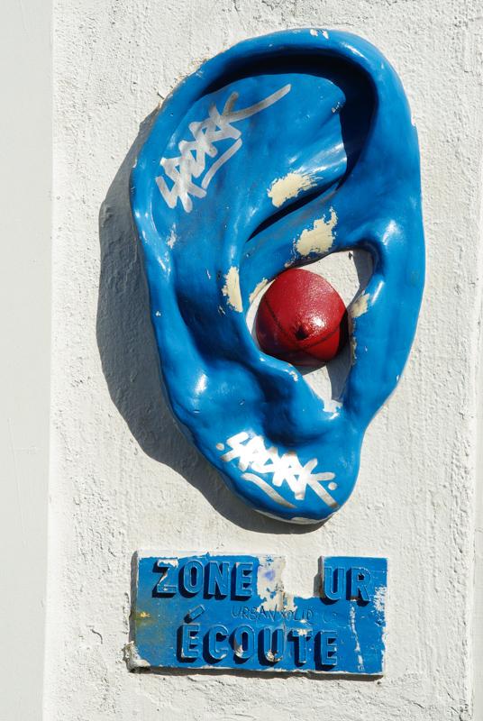 street art zone sur écoute la butte aux cailles