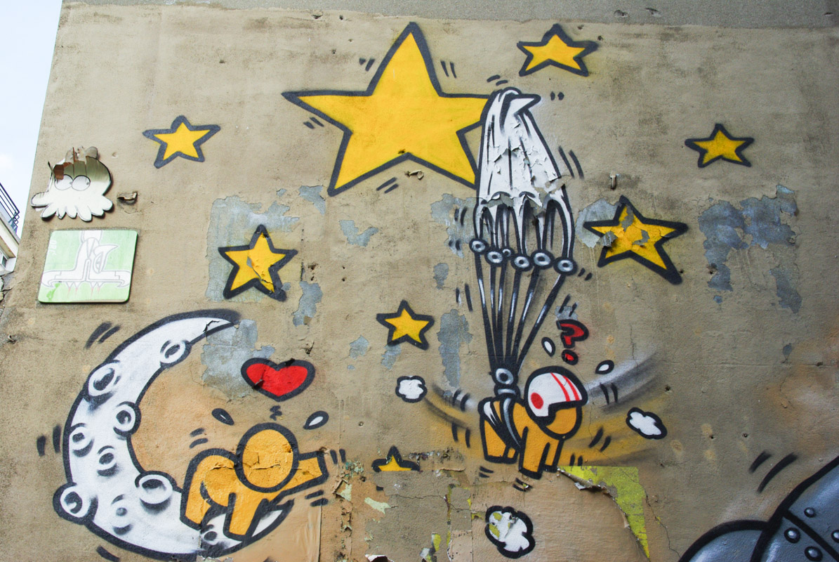 street art passage Boiton