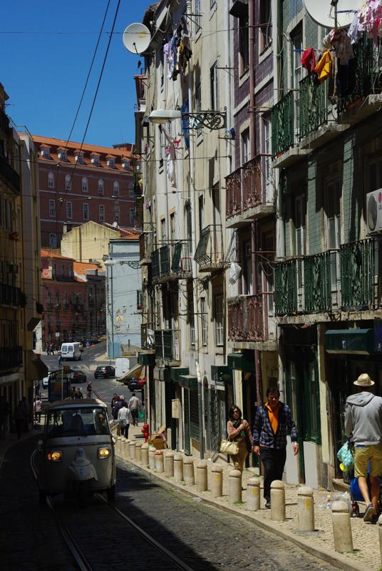 Dans les ruelles de l'Alfama - Lisbonne