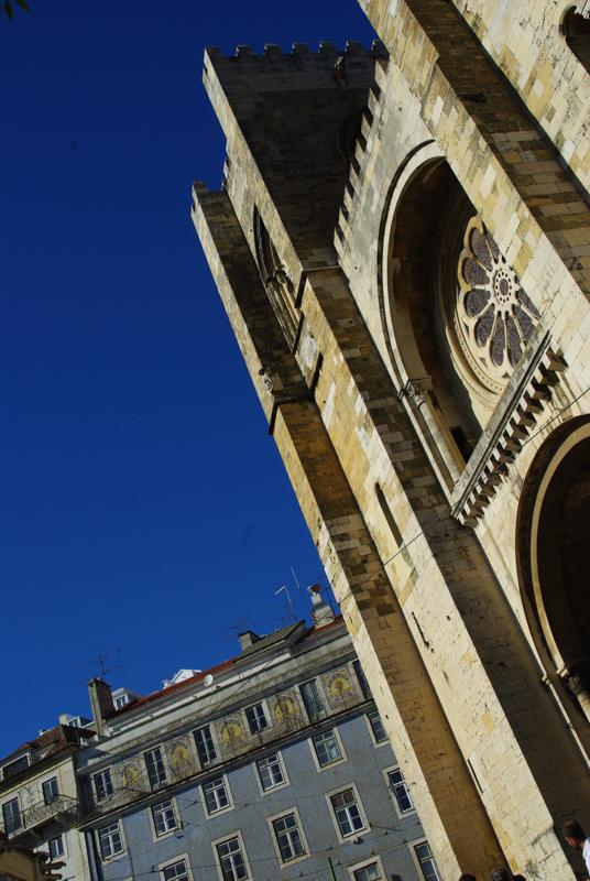 cathédrale Sé de Lisbonne