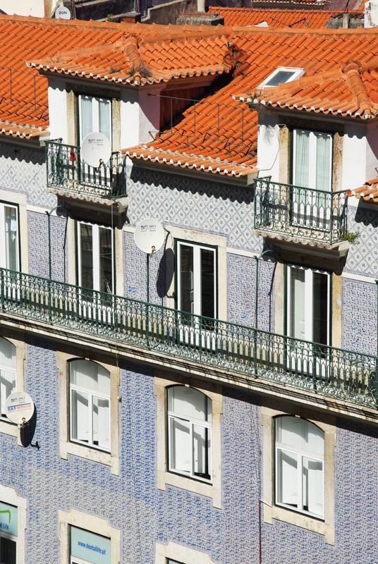 facade d'azulejos à Lisbonne