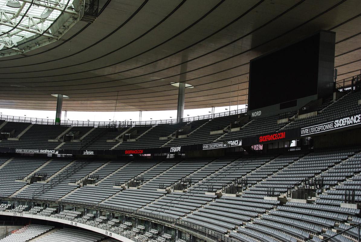 tribune du stade de France