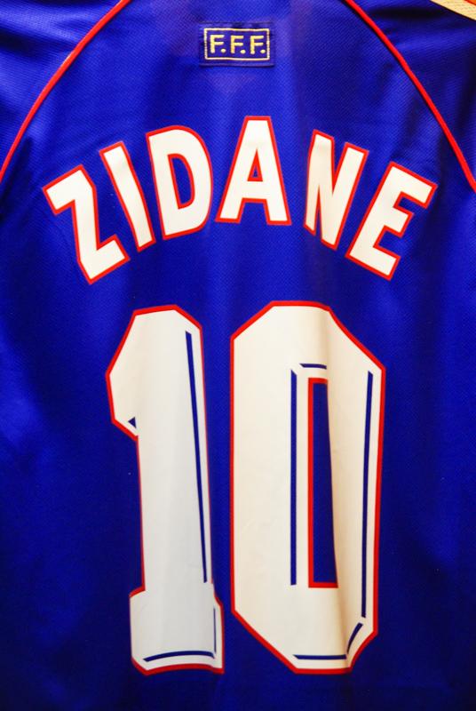maillot de foot de Zidane