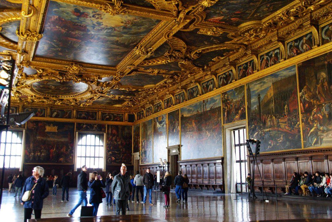 Intérieur du Palais des Doges de Venise