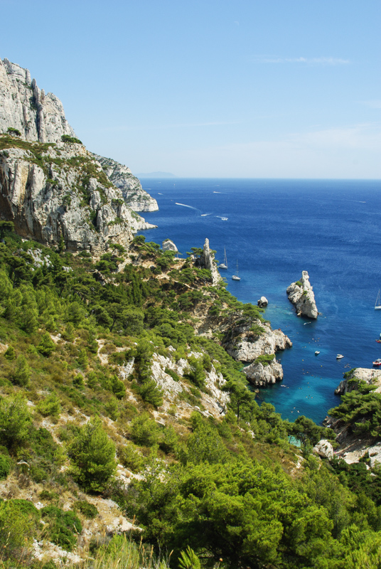 littoral des calanques