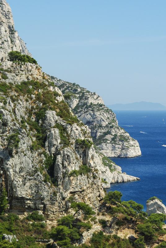 parc national des calanques près de Marseille