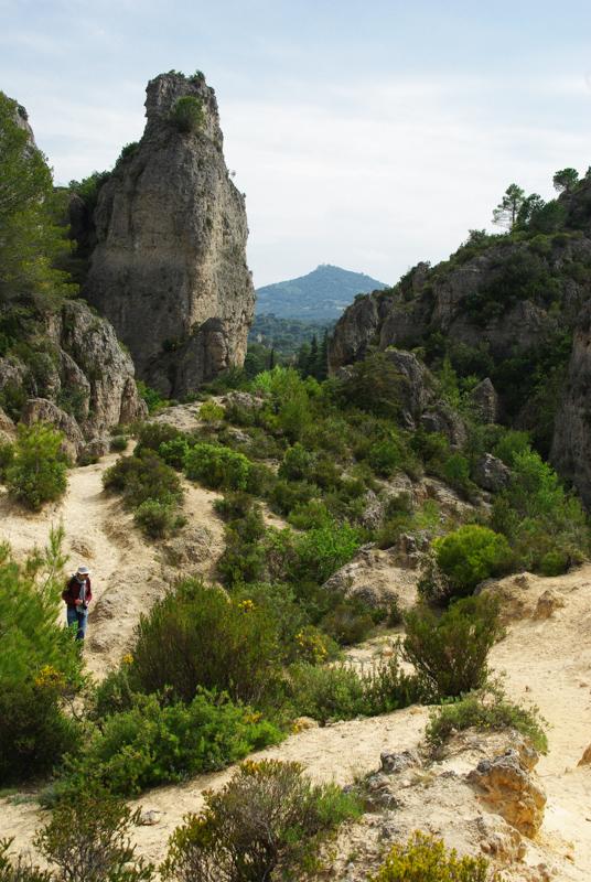 randonnée dans le cirque de Mourèze - Hérault