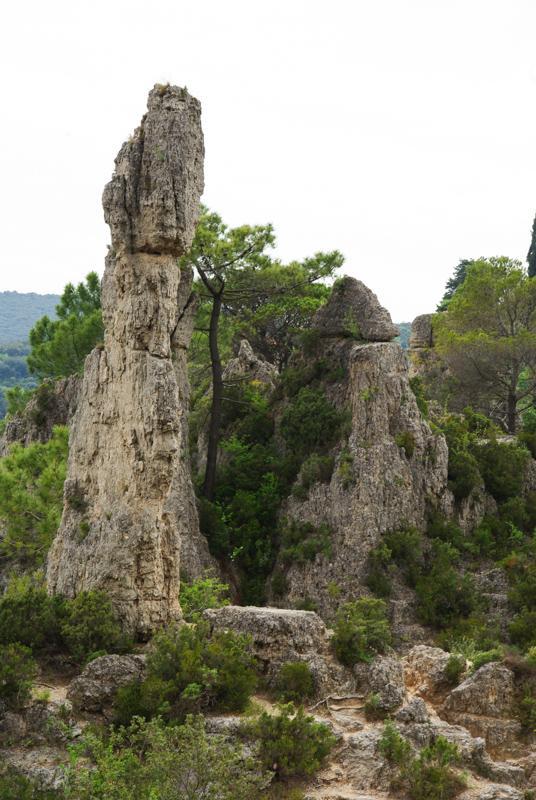 dolomites à Mourèze