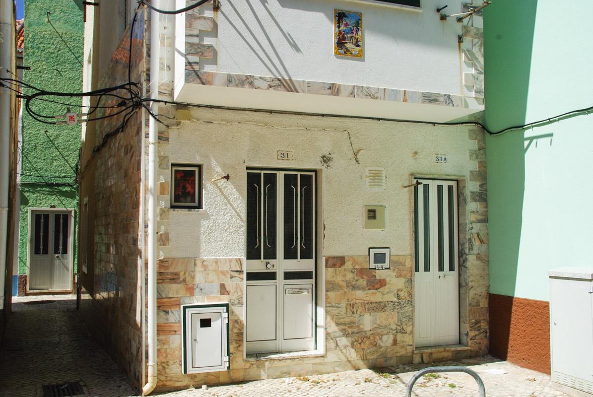dans les rues de Nazaré - Portugal