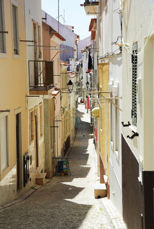 dans les rues de Nazaré
