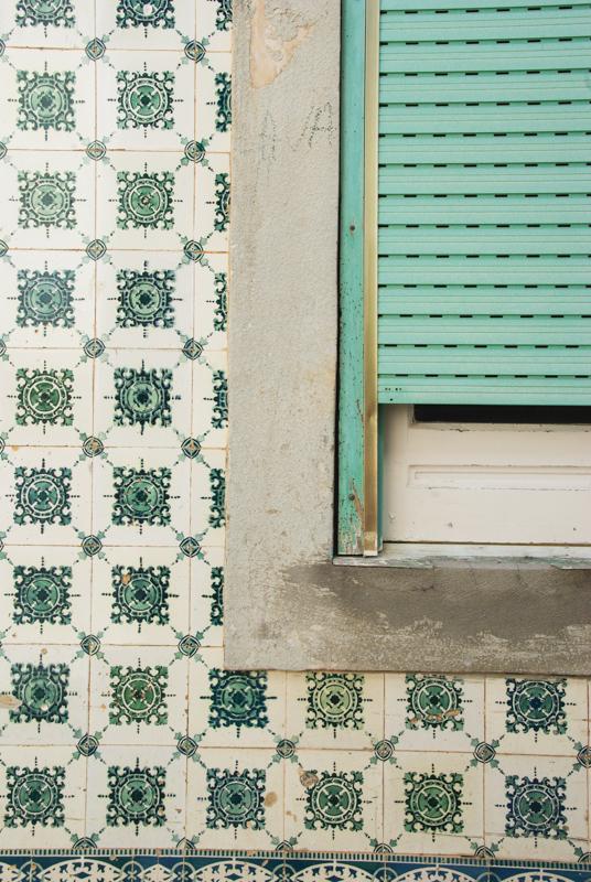 détail d'une fenêtre - Nazaré