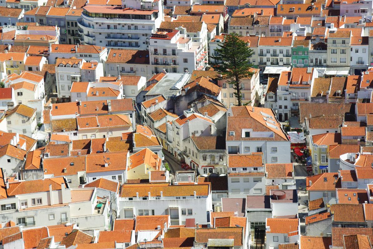 les toits de Nazaré - Portugal