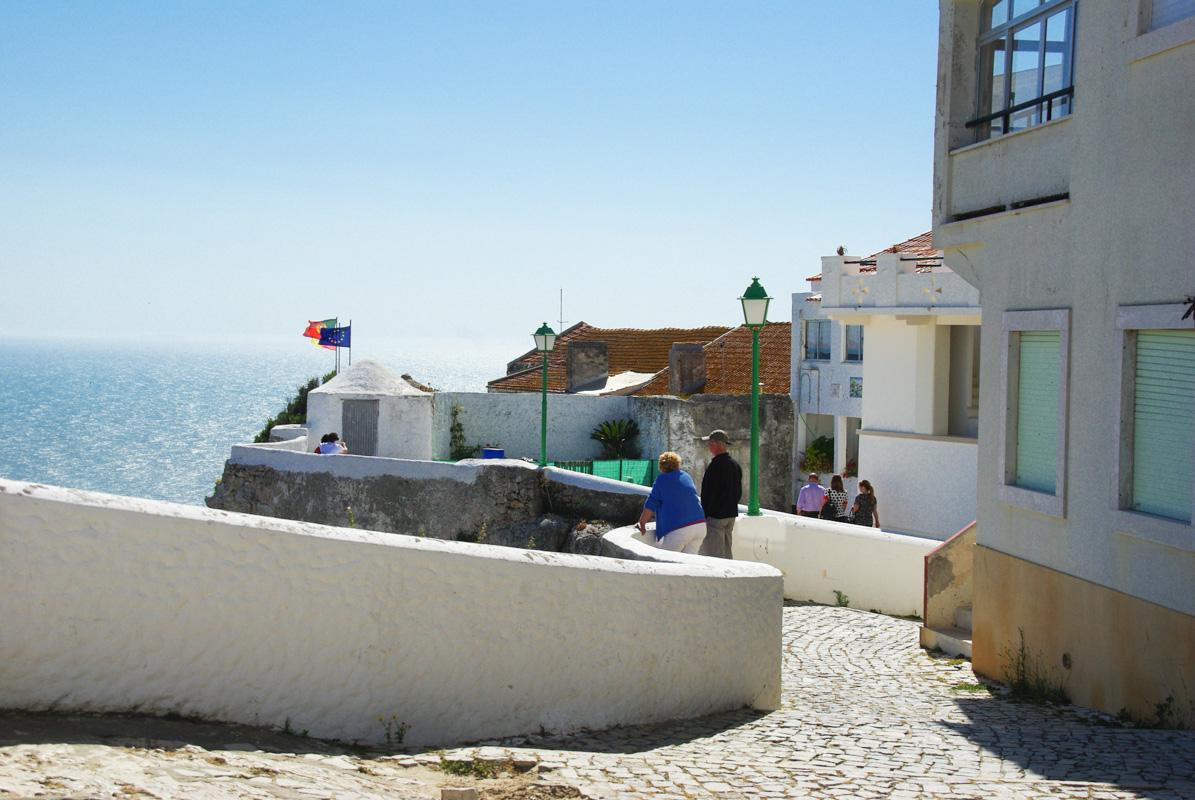 corniche de Nazaré
