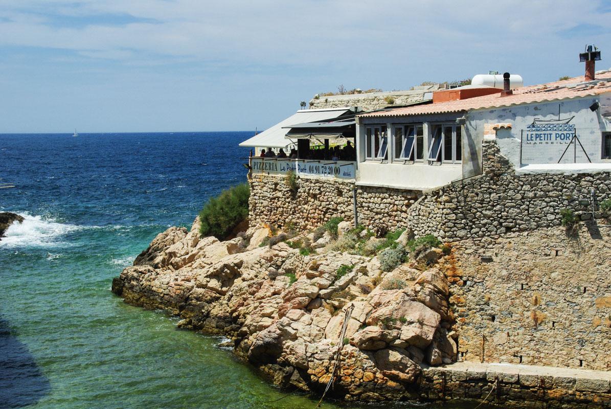 Restaurant le Petit Port - Les Goudes - Marseille