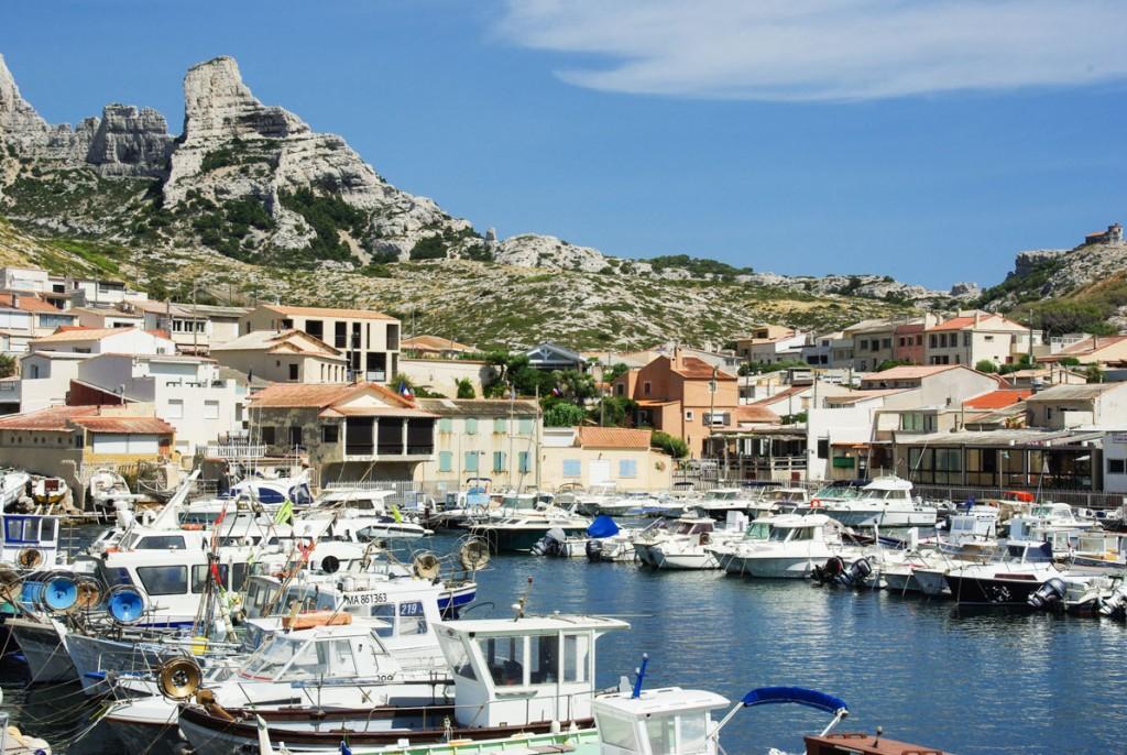 Le Port des Goudes - Marseille