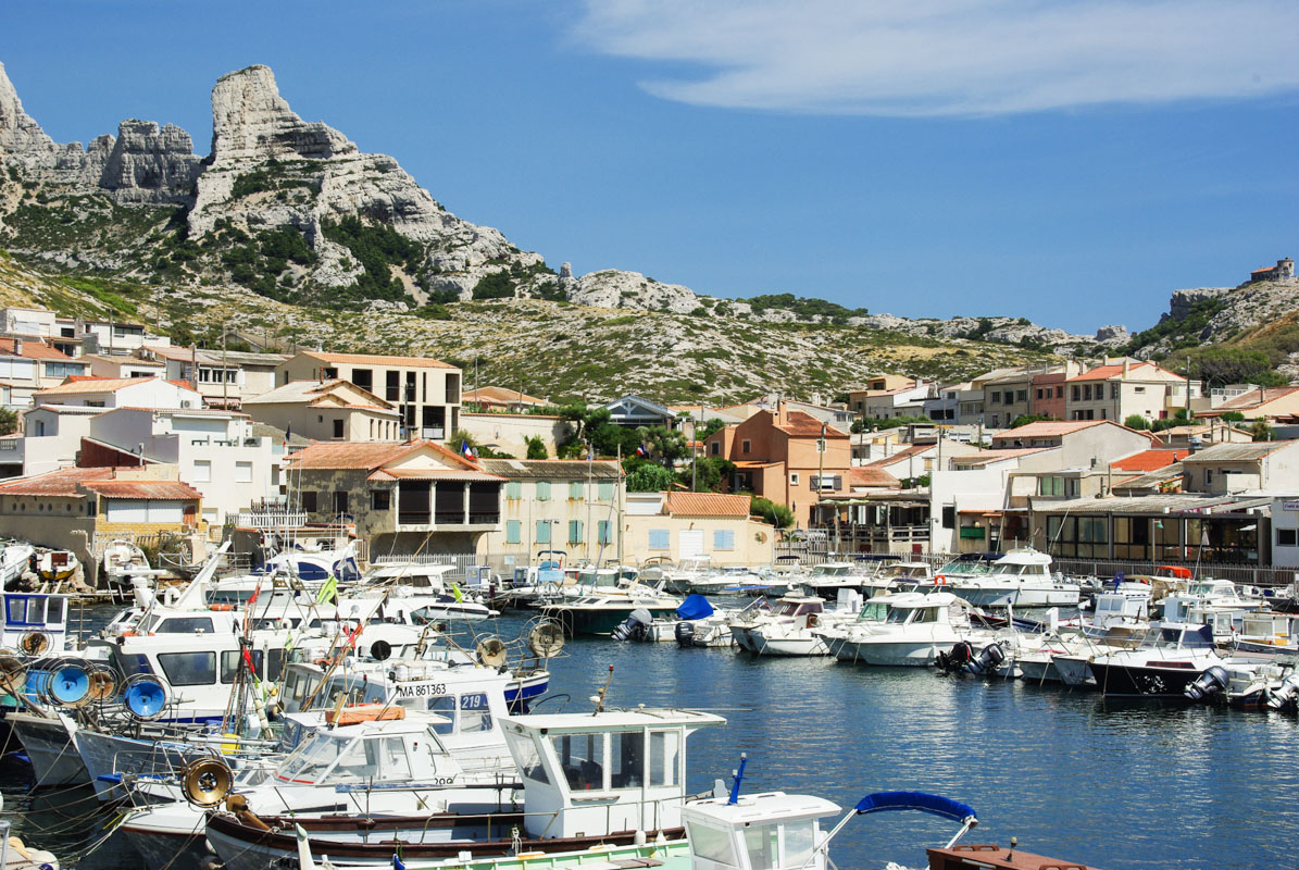 Marseille la fin de la route de la madrague au cap - Port de marseille pour aller en algerie ...