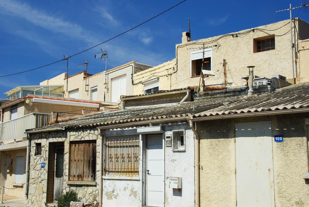 Quartier des Goudes - Marseille