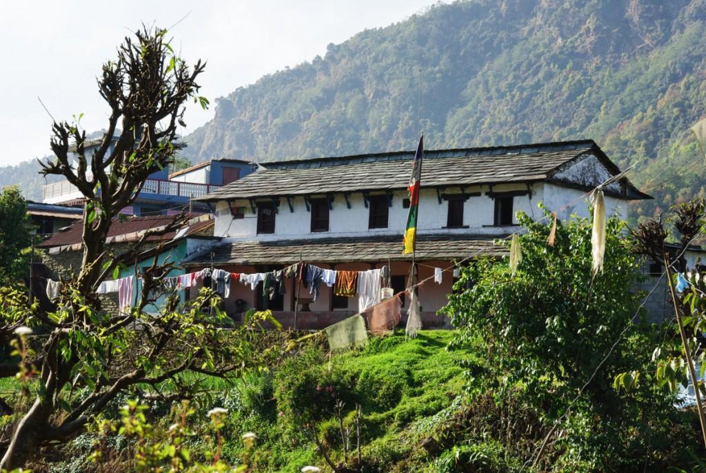 Maison népalaise - Kandé