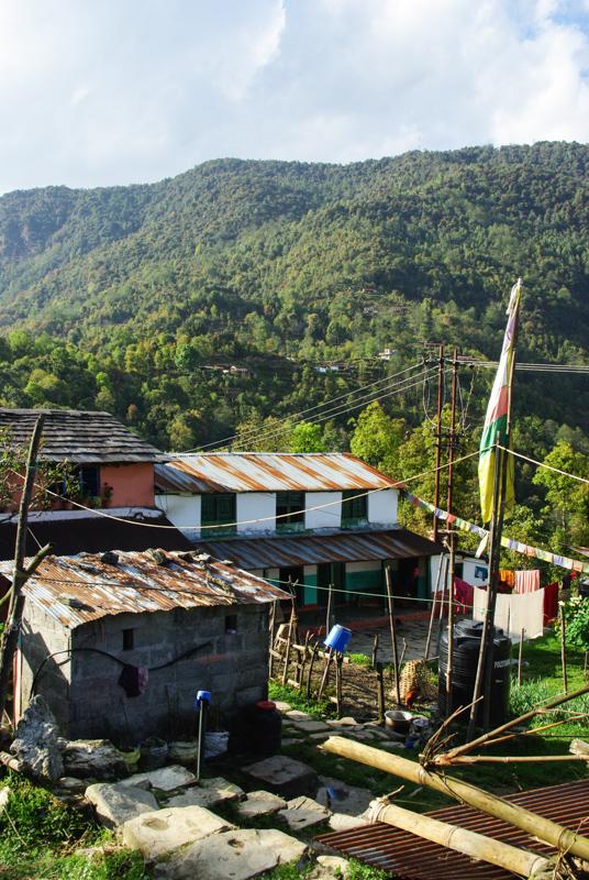 Village de Kandé - Népal