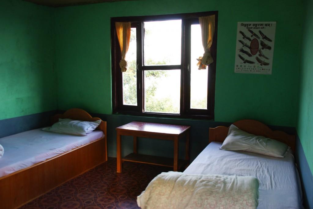Ma chambre à Australian Camp - Trek de Mardi Himal