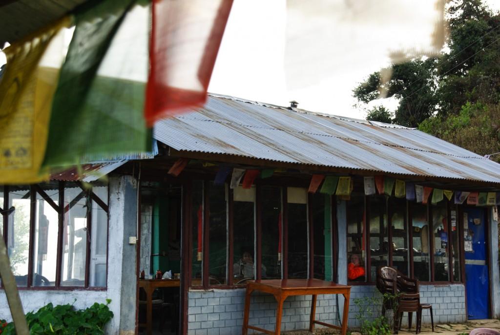 Salle commune Australian Camp - Mardi Himal