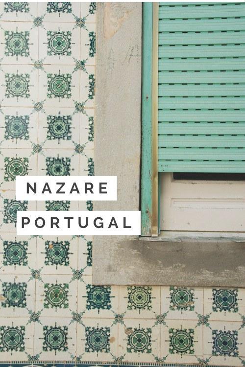 Balade dans la station balnéaire de Nazaré, une ancienne ville de pécheur au Portugal