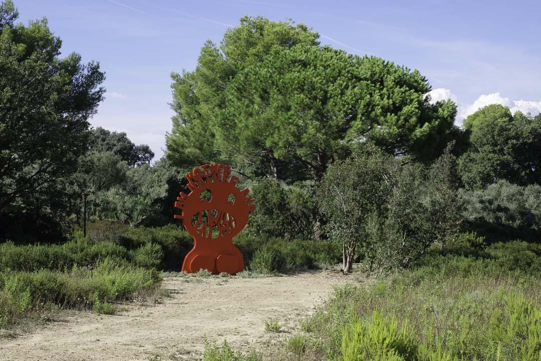 Jardin de sculptures - Fondation Carmignac