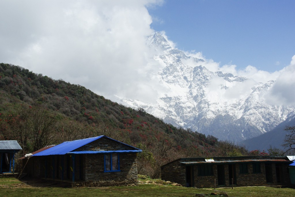 Low Camp - Trek de Mardi Himal