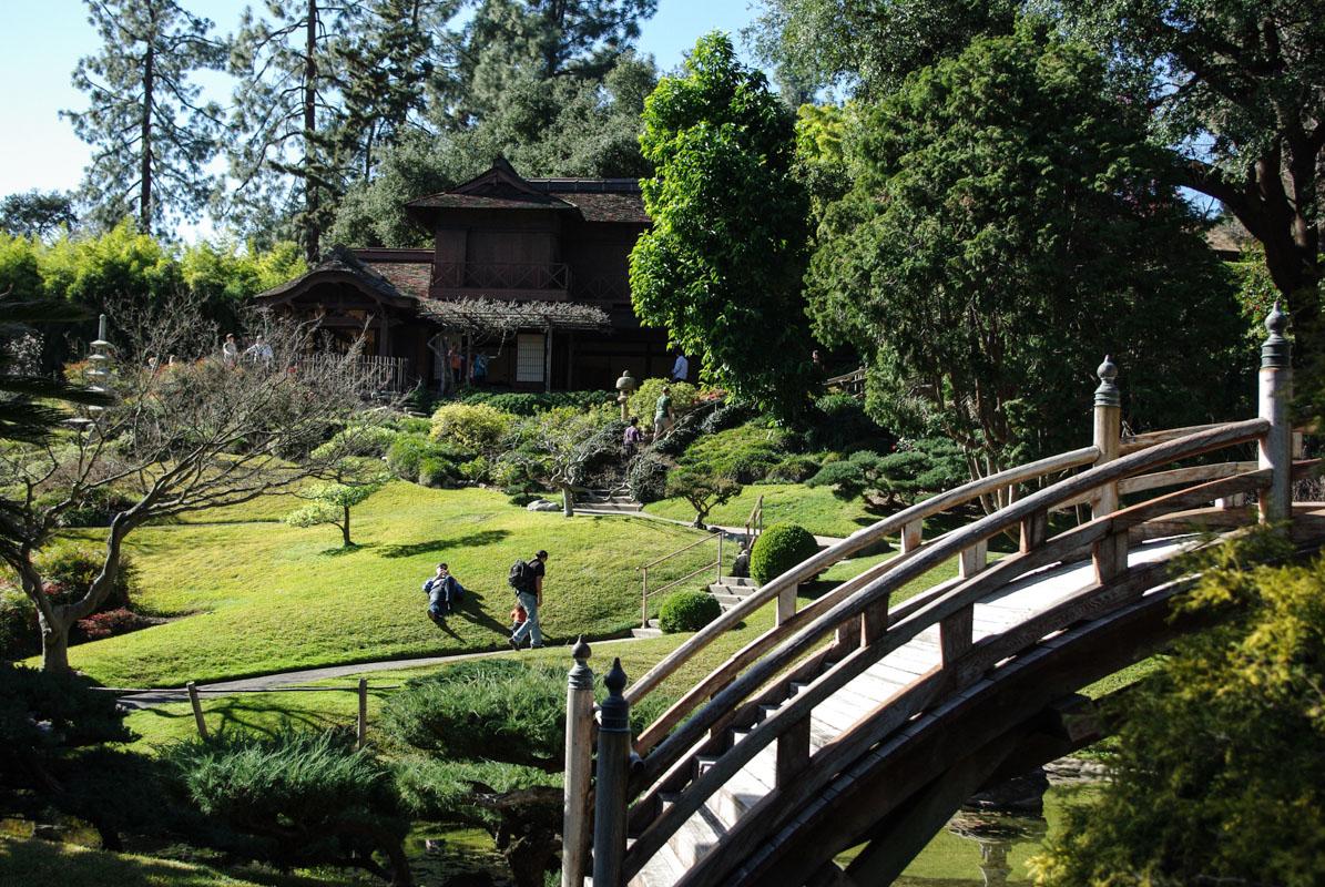 Jardin japonais Huntington Botanical Gardens - Pasadena - Los Angeles
