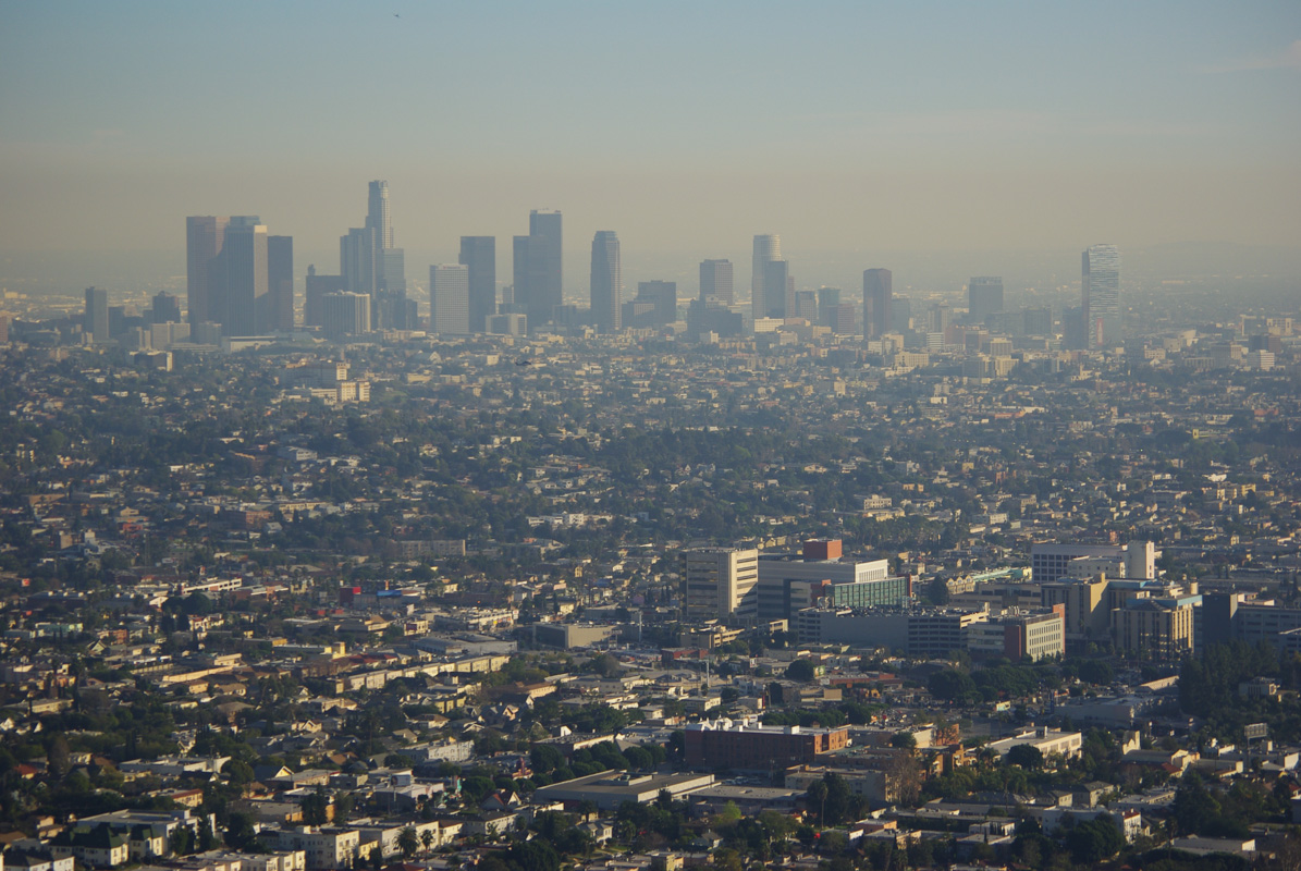 Panorama sur Los Angeles