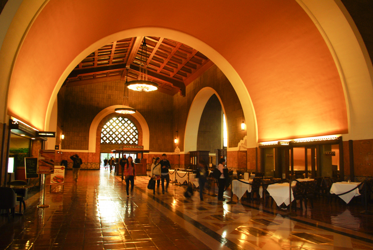 Hall de la gare Union Station - Los Angeles