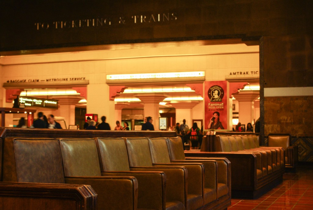 Salle d'atente - Gare Union Station - Los Angeles