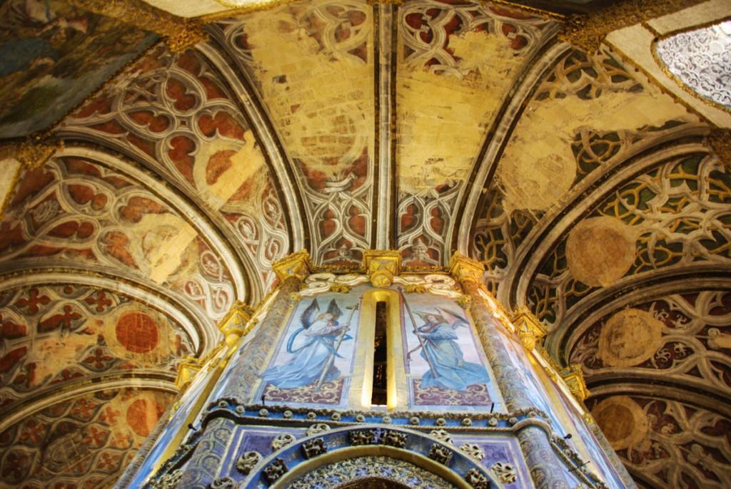 Fresque du plafond de la Rotonde - Tomar