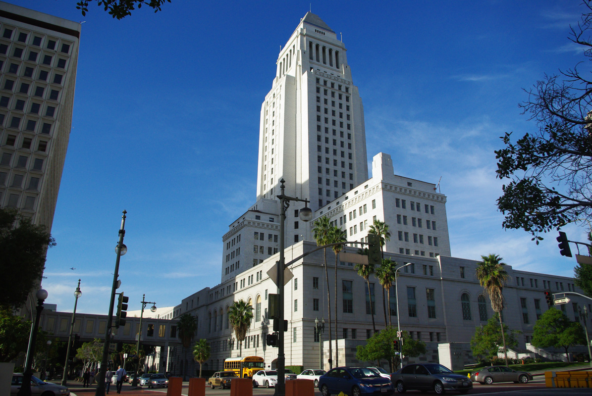 city hall - Los Angeles