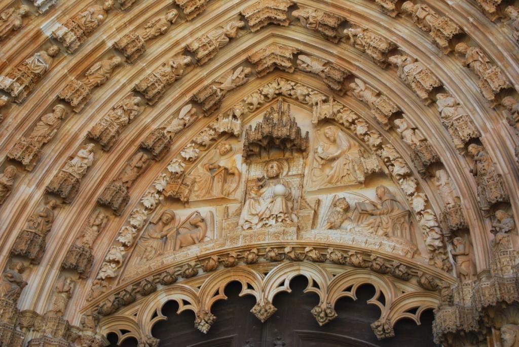 Fronton du Monastère de Batalha