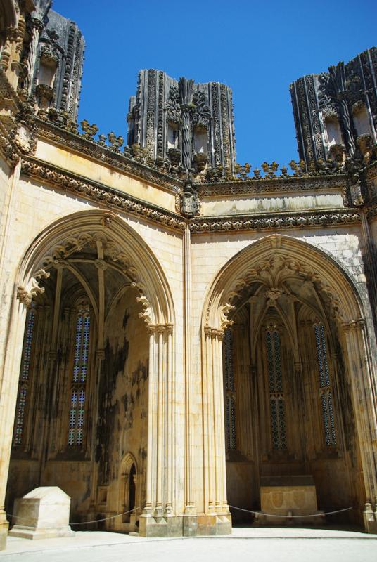 Les chapelles inachevées - Monastère de Batalha