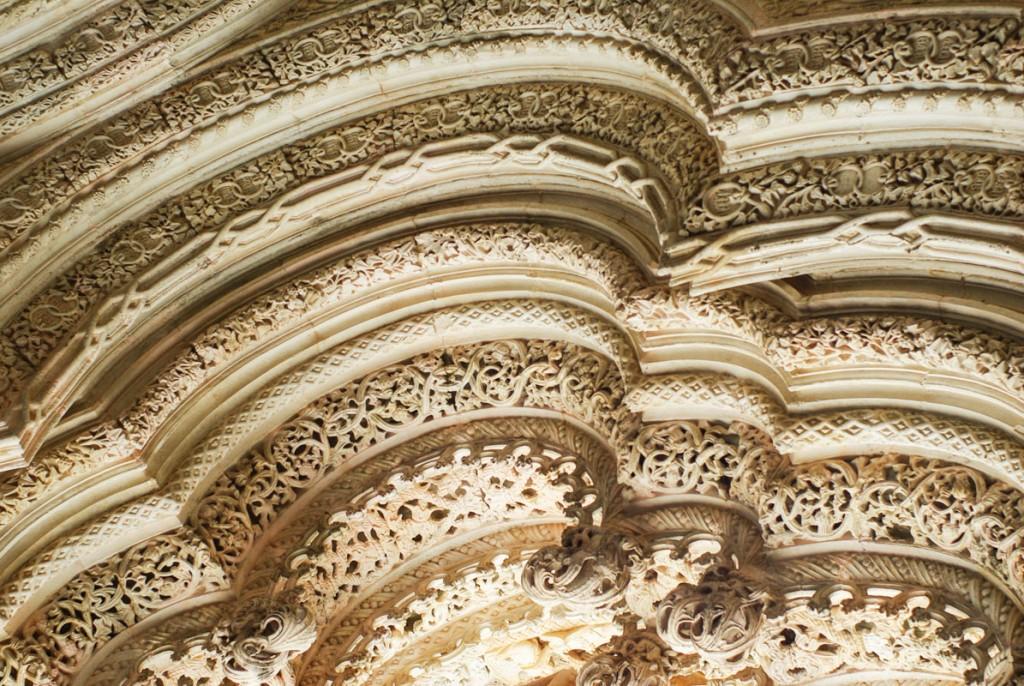 Détail architecture - Les chapelles inachevées - Monastère de Batalha